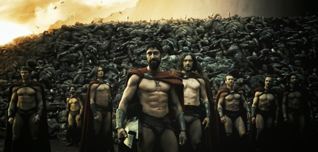 espartanos-pelicula-300-persas-muertas-vfx-3D-schoolnology-efectos-visuales